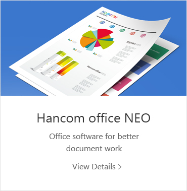 HancomOffice NEO Office software for better document work